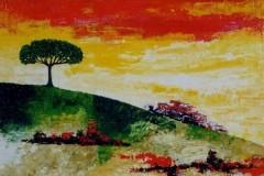 L'albero in collina